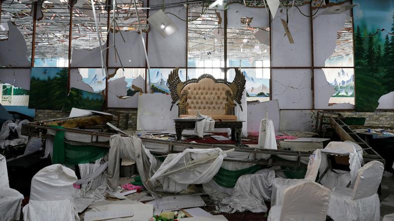 Mehr als 60 Tote nach Anschlag in Hochzeitshalle in Kabul