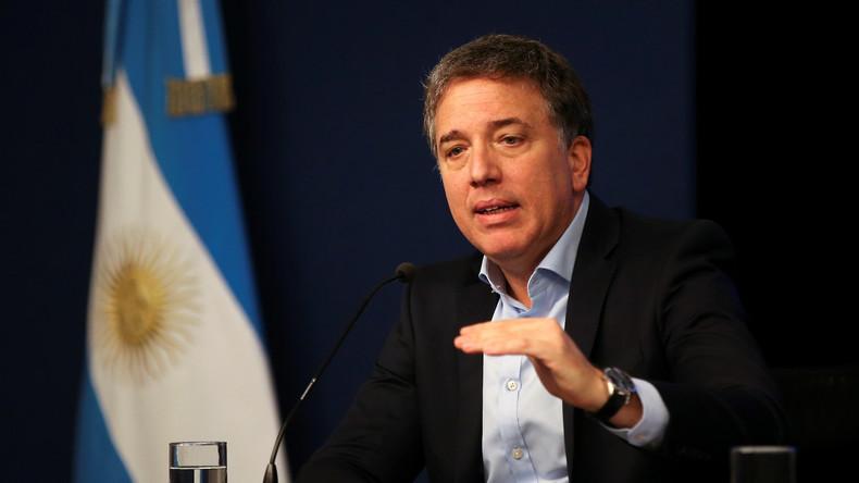 Argentiniens Finanzminister reicht seinen Rücktritt ein