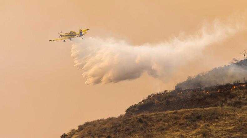 Waldbrand wütet auf Gran Canaria