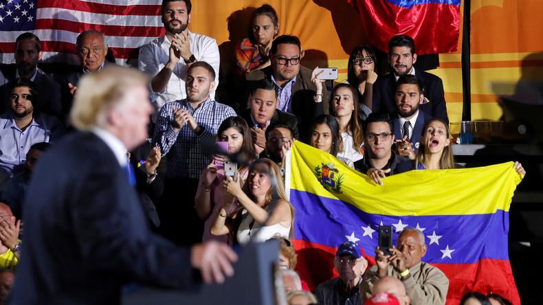 """""""Verhindert, dass irgendetwas reinkommt"""": Donald Trump zog Blockade Venezuelas in Betracht"""