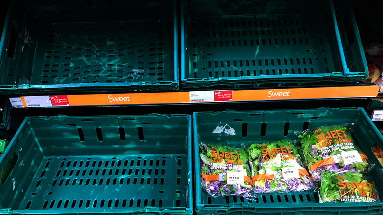Bei hartem Brexit: Britische Regierung warnt vor Lebensmittel- und Medikamentenknappheit