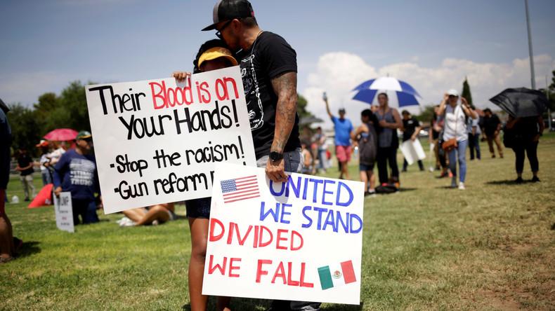 Anzahl der Hassverbrechen in den Vereinigten Staaten steigt weiter an (Video)