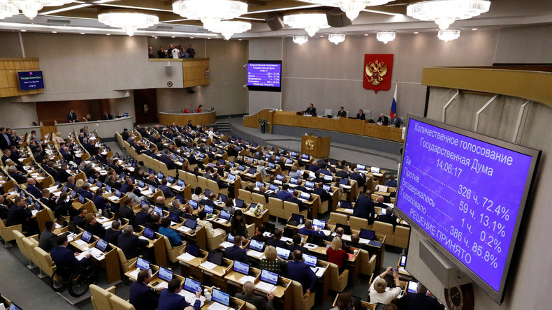"""Moskau richtet Kommission gegen """"Fremdeinmischung"""" ein – Ergebnisse werden an PACE, OSZE gesendet"""