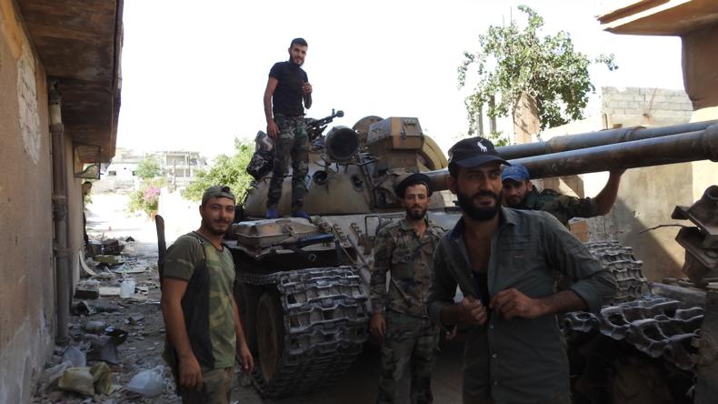 Syrische Armee erzielt Durchbruch bei der Rückeroberung Idlibs