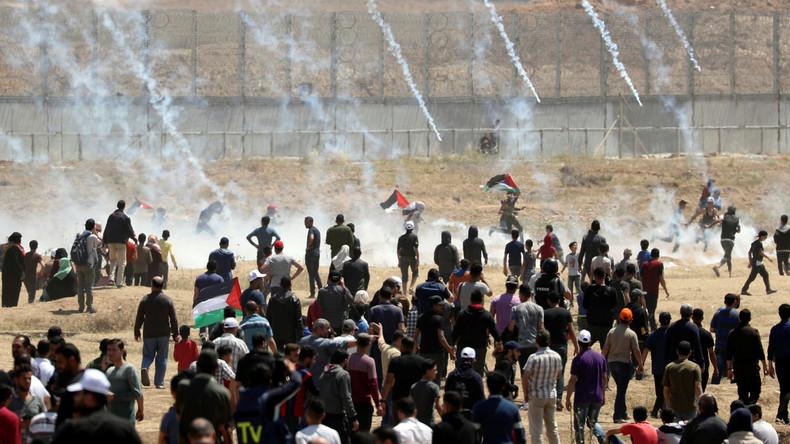 Ultimatum an Israel: Palästinenser in Gaza drohen mit Wochenende der Gewalt