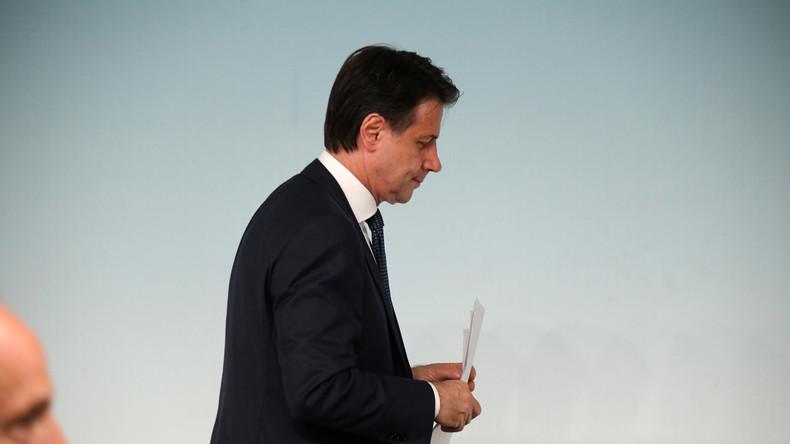 Regierung am Ende: Italiens Ministerpräsident Conte kündigt Rücktritt an