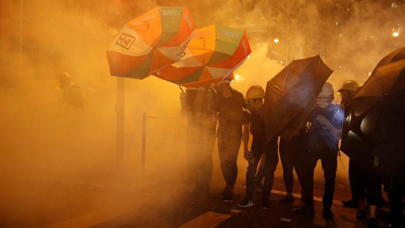 Hongkong-Proteste: Twitter sperrt chinesische Accounts (Video)