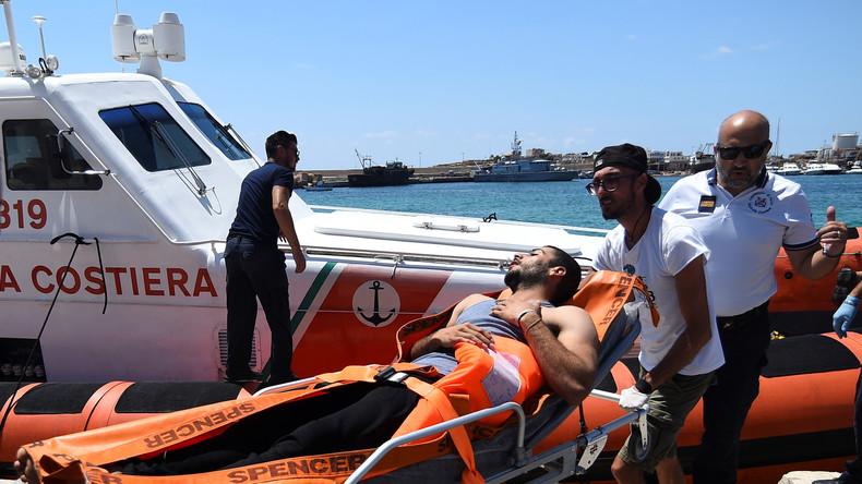 """Streit um Rettungsschiff """"Open Arms"""": Italien beschlagnahmt Boot"""