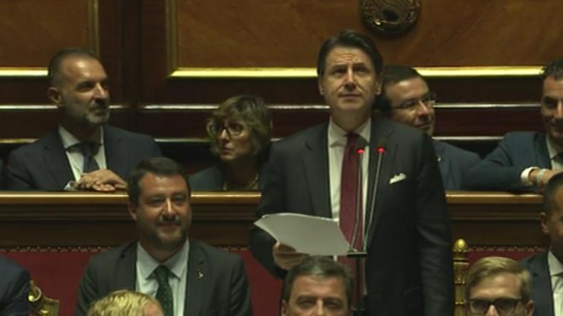 """Kein Mitleid von Salvini für Premierminister nach Rücktritt : """"Ich würde alles wieder so machen"""""""