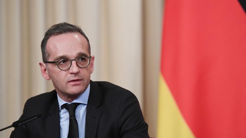 Maas erläutert seine Haltung zum INF-Vertrag - dann schaltet sich plötzlich Lawrow ein (Video)