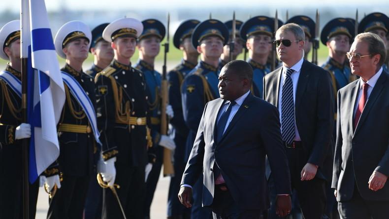 Mosambiks Präsident in Moskau: Russische Investitionen in das afrikanische Land sind Hauptthema