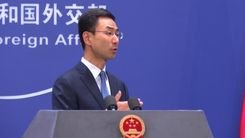 Chinas Außenministerium kritisiert US-Raketentest und Einmischung in Hongkong-Proteste scharf