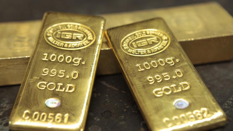 Russland baut Goldbestände weiter aus und überflügelt Saudi-Arabien bei Währungsreserven