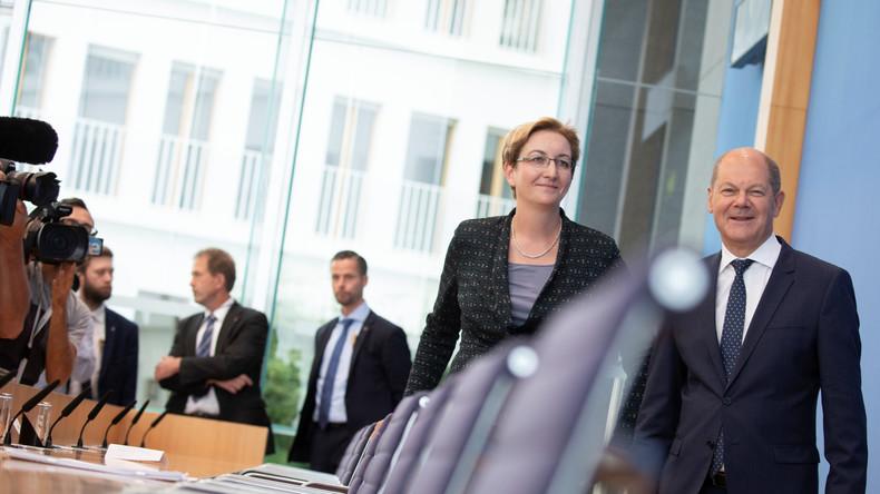 Scholz und Geywitz stellen offiziell ihre Kandidatur für SPD-Parteivorsitz vor: Wir schaffen das!