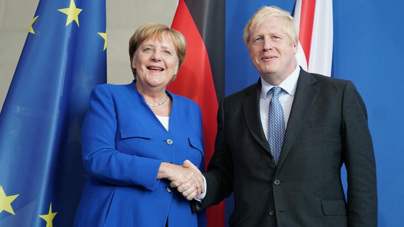 """Merkel: """"Friktionsfreier"""" Brexit beim Treffen mit Johnson zu diskutieren"""