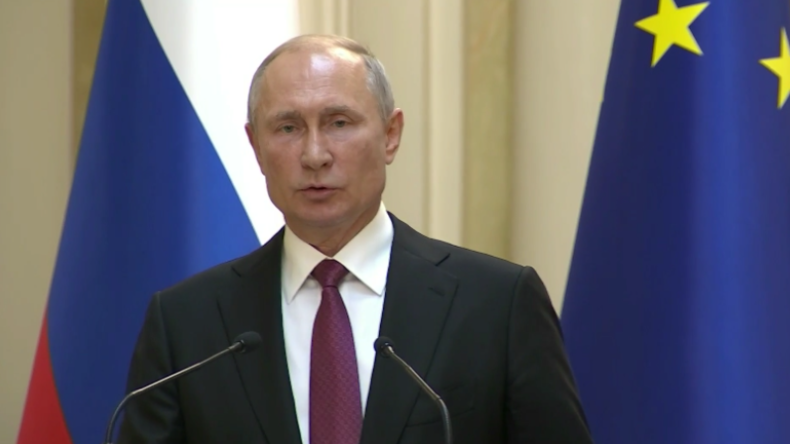 """Putin: """"Wir würden gern die Beziehungen zur EU vollständig reparieren"""""""