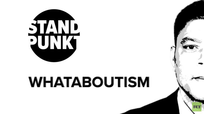 "Gute Proteste, schlechte Proteste: ""Whataboutism"" als russische ""Propaganda-Taktik"" (Video)"