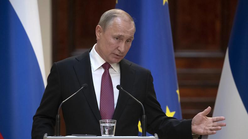 Putin: US-Raketentest eskaliert europäisches Sicherheitsproblem (Video)