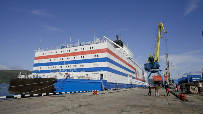 Russland:Einzigartiges schwimmendes Kernkraftwerk bereit für die Reise nach Fernost