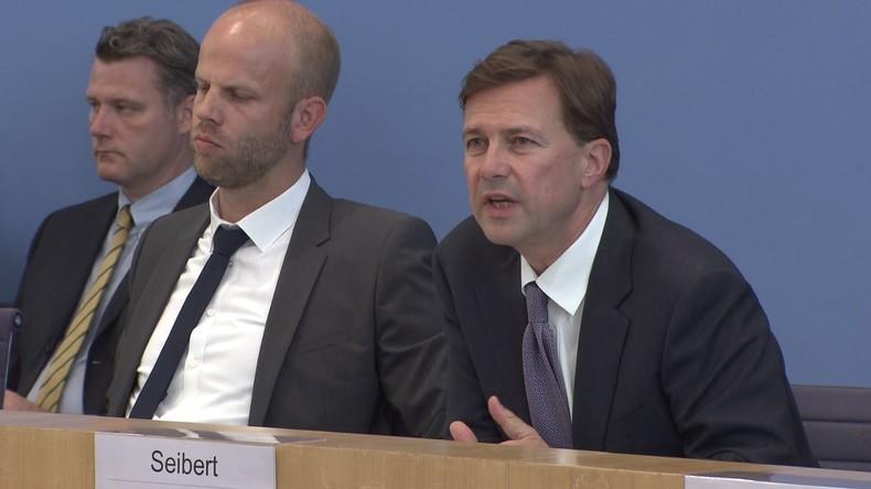 Regierungssprecher Seibert: US-Truppen in Deutschland sind willkommen und gut integriert