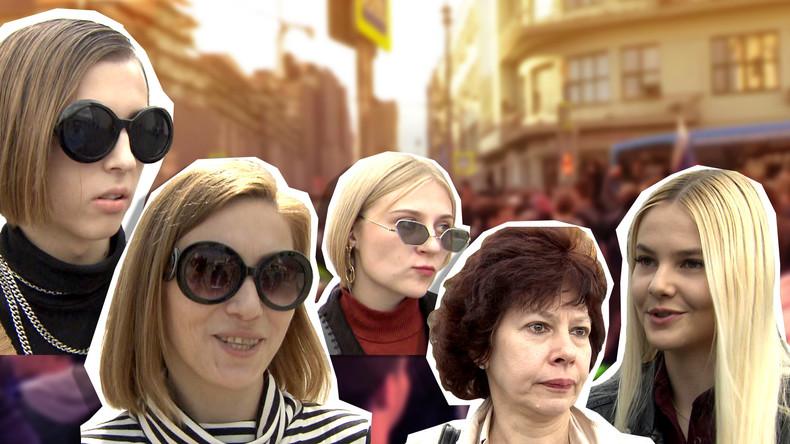 Wollen die Moskauer an den Protesten teilnehmen? RT-Straßenumfrage in der russischen Hauptstadt