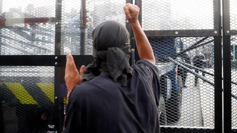 LIVE: G7-Gegner protestieren gegen Polizeigewalt