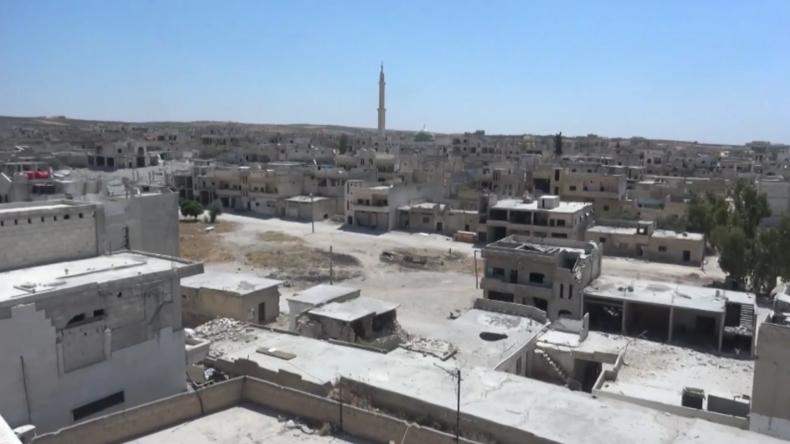 Syrien: Chan Scheichun von Regierungsarmee zurückerobert