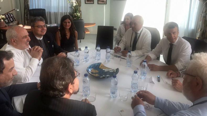 Überraschungsgast beim G7-Gipfel in Biarritz: Macron trifft Irans Außenminister Sarif