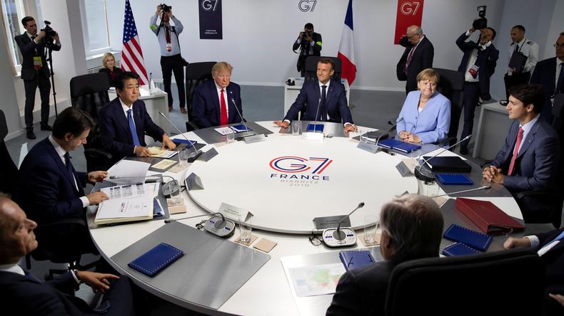 Kreml: Wiederbelebung der G8 ohne Konsens zwischen den G7-Staaten unmöglich