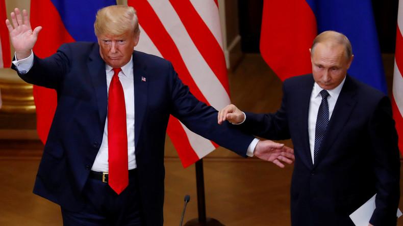 """Trump würde Putin """"natürlich"""" zum nächsten G7-Gipfel einladen"""