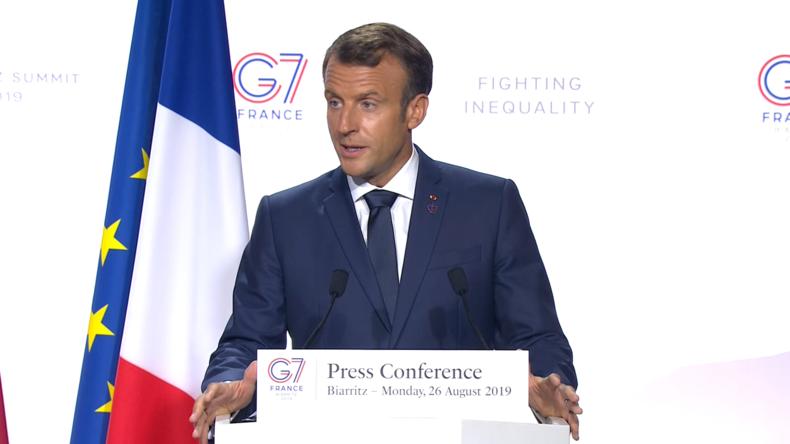 """""""Nicht im Interesse des Planeten"""": Macron stellt Souveränität von Ländern über Regenwald in Frage"""