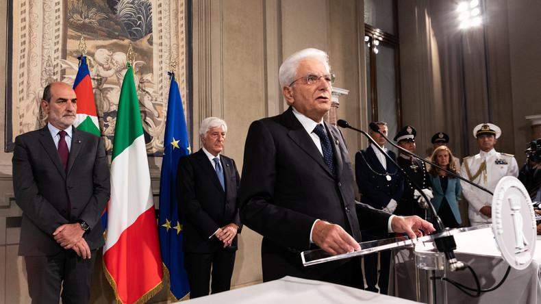 Regierungskrise in Italien – Entscheidung des Präsidenten steht an