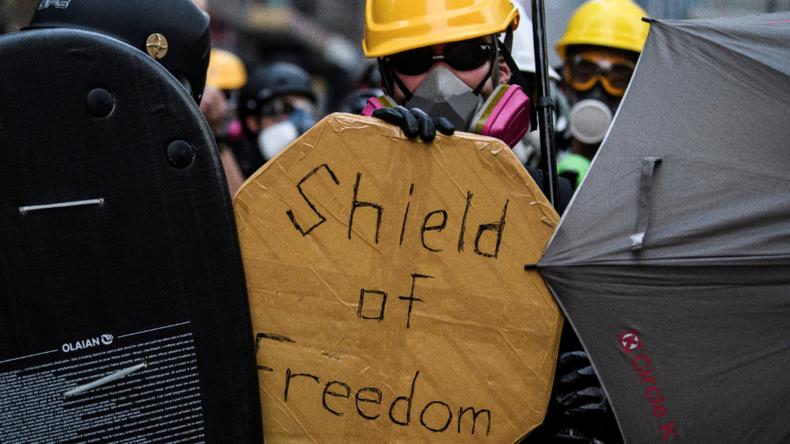 "Protestler in Hongkong: ""Aggression ist manchmal notwendig"""