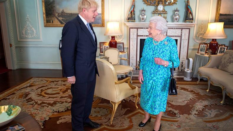 Brexit-Streit: Boris Johnson beantragt mehrwöchige Parlamentsschließung