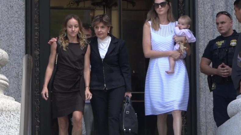 Epstein-Klägerinnen vor Gericht: Wollen Untersuchung seines Todes und seiner Komplizen