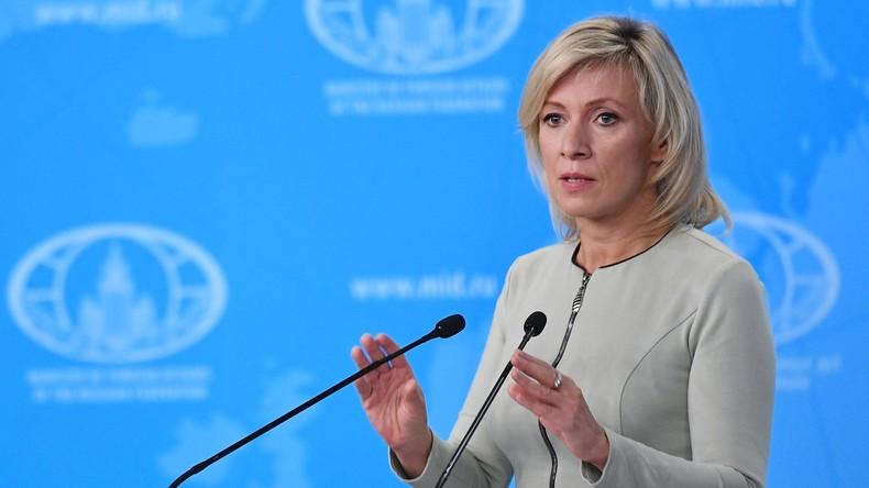 """Marija Sacharowa zum Mord in Berlin-Moabit: """"Vorwürfe gegen Russland Teil einer Kampagne"""""""