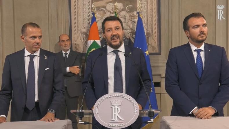 Salvini: Italiener sind nun die Geiseln von 100 macht-gierigen Abgeordneten