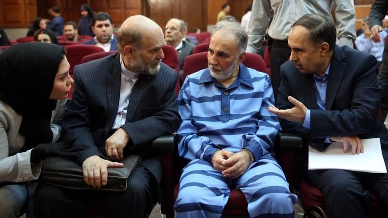 Nach Mord an Zweitfrau: Ex-Bürgermeister von Teheran gegen Kaution frei