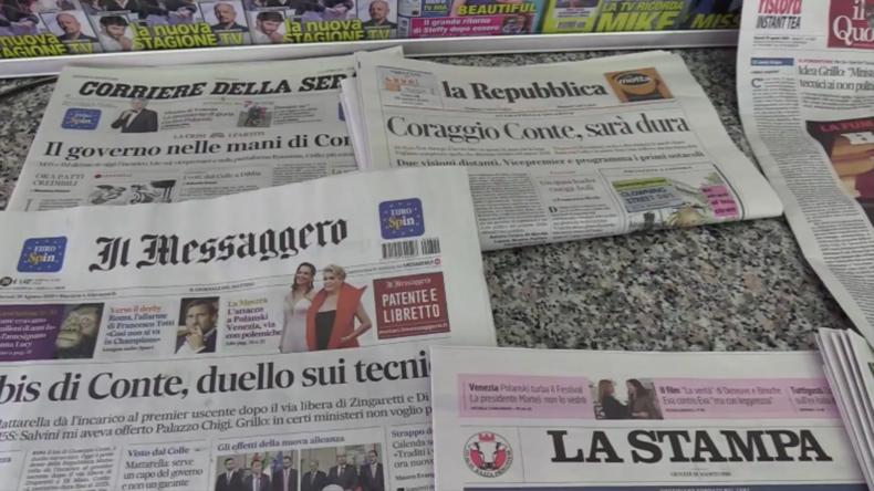 Italien: Römer reagieren auf neues Regierungsmandat für Conte
