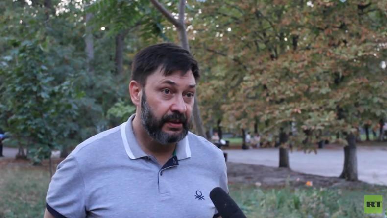 Exklusiv: Journalist Kirill Wyschinski gibt erstes Interview nach Entlassung aus ukrainischer Haft