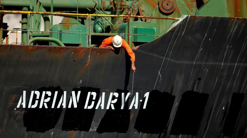 USA belegen iranischen Tanker Adrian Darya 1 mit Sanktionen