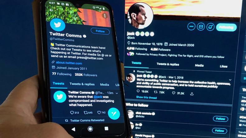Bombendrohung und Nazi-Verherrlichung: Account von Twitter-Chef Jack Dorsey gehackt
