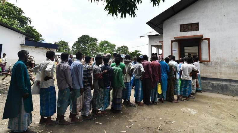 Zwei Millionen Menschen droht Abschiebung von Indien nach Bangladesch