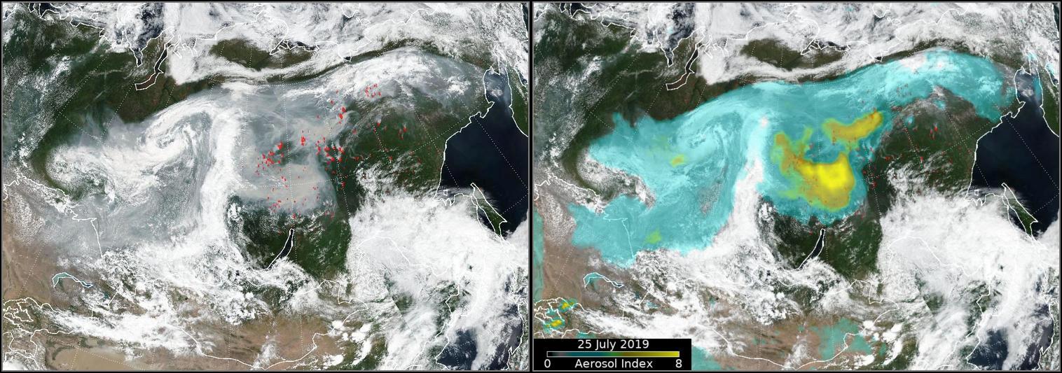 Waldbrände in Sibirien: Militär muss zu Hilfe eilen