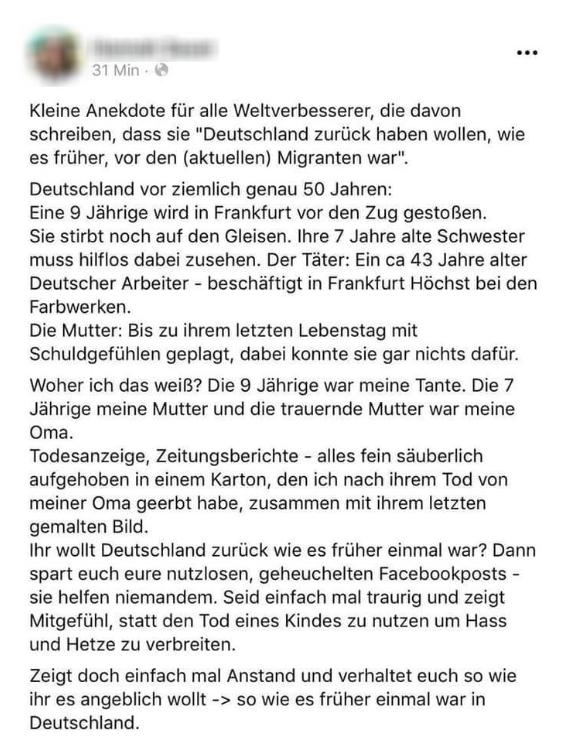 """Lügen für das """"Gute""""? Familientragödie über angeblichen Bahnhofsmord in Frankfurt war wohl erfunden"""