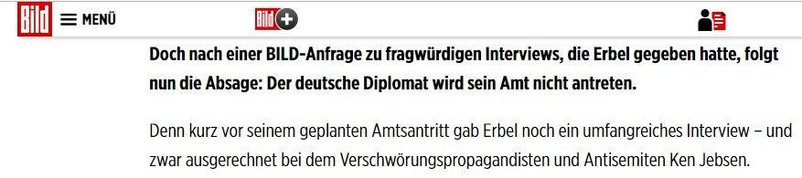 Bundespressekonferenz und der Fall Bernd Erbel: Wie BILD unliebsame Diplomaten ausbremst
