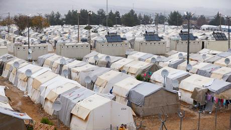 Flüchtlingslager Nizip nahe der türkisch-syrischen Grenze in der Provinz Gaziantep, Türkei, 30. November 2016.