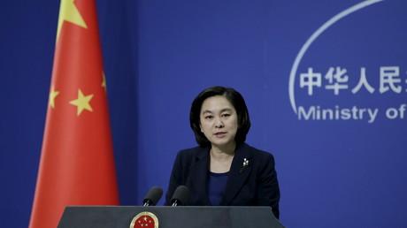 Die Sprecherin des chinesischen Außenministeriums Hua Chunying.