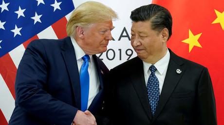 Für September waren weitere Gespräche geplant. Bild: US-Präsident Donald Trump trifft Chinas Präsidenten Xi Jinping.