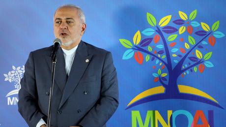 Der iranische Außenminister Dschawad Sarif, Caracas, Venezuela, 20. Juli 2019.